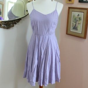 Cute Lavender Print Cami Dress by Old Navy